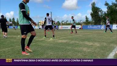 Botafogo-PB acerta a saída do atacante Pimentinha e procura reforços - Botafogo-PB acerta a saída do atacante Pimentinha e procura reforços