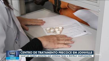 Joinville abre centro de tratamento precoce da Covid-19 - Joinville abre centro de tratamento precoce da Covid-19