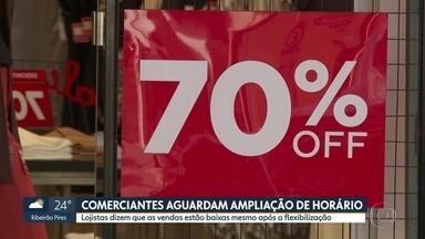 Governo autoriza nova ampliação do funcionamento do comércio de rua e shoppings no estado - Lojistas reclamam que as vendas estão ainda muito baixas após flexibilização.