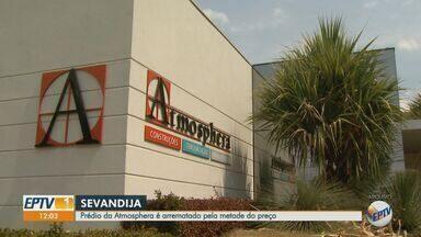 Dinheiro da venda de prédio da Atmosphera é usado para pagar dívidas trabalhistas - Operação Sevandija apurou desvio de mais de R$200 milhões em Ribeirão Preto.
