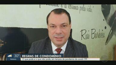 Advogado responde dúvidas sobre condomínios na pandemia da Covid-19 - Especialista explica o papel do sindico nesse período.