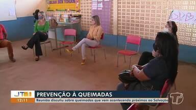 Reunião discute sobre queimadas no Residencial Salvação, em Santarém - Confira.
