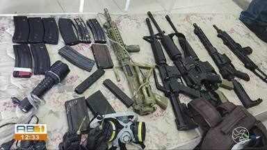 Polícia Civil apreende grande quantidade de armas e munições em Gravatá - Armamento seria usado por grupo de criminosos em um ataque ao Sistema Prisional.