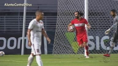 Brasil de Pelotas sofre derrota para o CRB - Artilheiro da Série B, Gamalho resolve o jogo contra os xavantes.