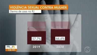 Casos de violência contra a mulher registram aumento durante a pandemia - Isolamento social e maior proximidade das vítimas com seus agressores pode ter contribuído para esse aumento.