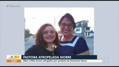 Mulher atropelada por prefeito de Santarém Novo morre em hospital - Mulher atropelada por prefeito de Santarém Novo morre em hospital