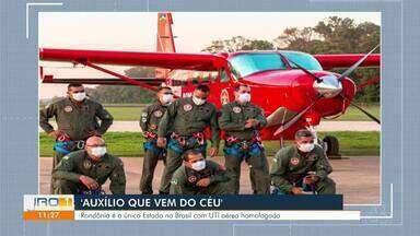 Grupamento de operação aéreas - Rondônia é o único estado no brasil com U.T.I aérea homologada.