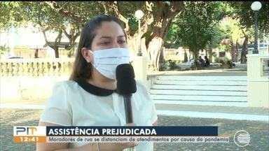Moradores de rua ficam com assistência prejudicada por conta da pandemia - Moradores de rua ficam com assistência prejudicada por conta da pandemia