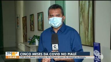 Piauí já sofre com Covid-19 há 5 meses, mas registros de casos diminuem - Piauí já sofre com Covid-19 há 5 meses, mas registros de casos diminuem
