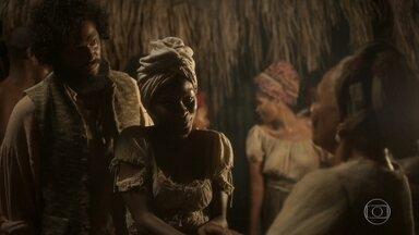 Matias apresenta Luana a Idalina - Cecília descobre que está grávida