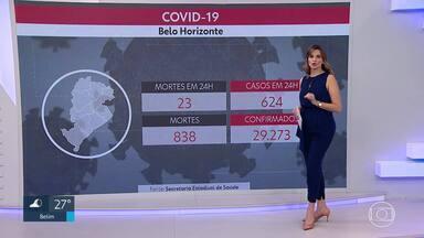 Média móvel de mortes, pela Covid, indica estabilidade em BH - O número ficou em 17, nesta quarta-feira. No dia 6 de agosto, a média móvel era de 18 mortos.