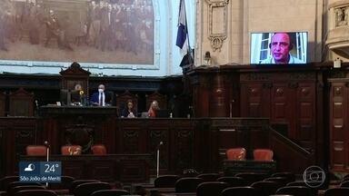 Conselho de Ética da Alerj recebe denúncia contra deputados presos em operação - Os cinco deputados foram presos na operação Furna da Onça e o pedido só chegou quase dois anos depois.