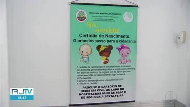 Cabo Frio assina TAC com Ministério Público para estimular registros de crianças - Objetivo é diminuir a subnotificação de registros na cidade.