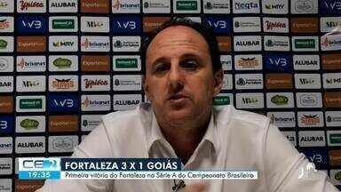 Depois de 3 jogos, Fortaleza consegue primeira vitória no campeonato brasileiro - Saiba mais no g1.com.br/ce