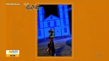 Telespectdores enviam fotos para o quadro 'Tô no BDG' - Imagens podem ser enviadas por QVT, Whatsapp e redes sociais.