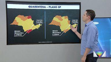 Mapa das fases do Plano São Paulo na região - Confira o mapa.