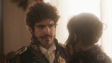 Dom Pedro pede que Domitila vá embora - Leopoldina deseja ver o imperador