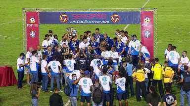 Confiança empata com o Itabaiana na última rodada e é campeão sergipano de 2020 - Dragão empatou em pontos com o rival Sergipe, mas levou a melhor pelo saldo de gols.