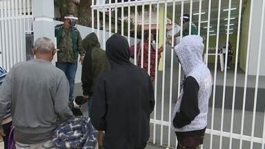 Moradores de rua sofrem com chegada do frio e MP recomenda medidas de proteção - Moradores de rua sofrem com chegada do frio e MP recomenda medidas de proteção