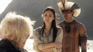 Edward agradece por ser salvo - Piatã e Anna dizem que nunca iriam abandonar o pai