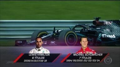 Piloto comenta as semelhanças entre Schumacher e Hamilton - Piloto comenta as semelhanças entre Schumacher e Hamilton