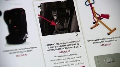Golpe pela internet atinge famílias de crianças com deficiência no Brasil - Mães denunciam que, após comprarem equipamentos através de mulher que mora nos Estados Unidos, não os receberam completos ou simplesmente eles nunca chegaram. O Fantástico encontrou mais de 40 reclamações semelhantes. A PF está investigando.