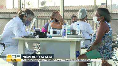 Especialistas alertam que medidas contra o coronavírus não devem ser abandonadas - Distanciamento social e o uso de máscaras são muito importantes, pois os números de casos e mortes ainda são grandes no DF.