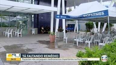 Pacientes não conseguem medicamentos importantes na Rio Farmes - Remédios utilizados para hemodiálise estão em falta