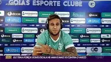 Com Rafael Moura, Goiás tenta classificação contra Vasco pela Copa do Brasil - Esmeraldino tem vantagem por ter vencido primeiro jogo por 1 a 0 em março