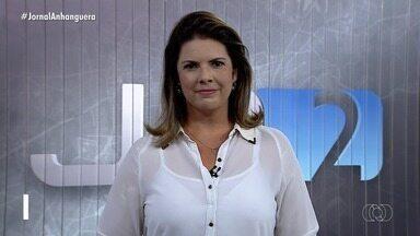 Veja os destaques do Jornal Anhanguera 2ª Edição desta sexta-feira (28) - Entre os principais assuntos está a prisão de uma quadrilha suspeita de invadir sistemas para pedir dinheiro em Goiás.