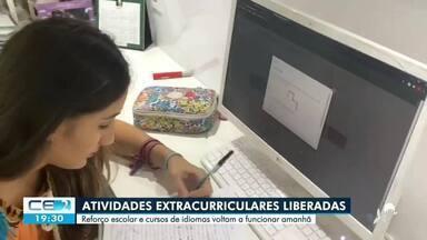 Atividades extracurriculares liberadas a partir de amanhã em Fortaleza e macrorregião - Saiba mais no g1.com.br/ce