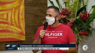 IF-Sertão promove debate sobre a produção de mel - O debate será feito de forma online.