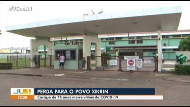 Cacique da região do Xingu morre com Covid-19 após 24 dias internado - Cacique da região do Xingu morre com Covid-19 após 24 dias internado