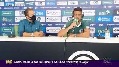 Goiás apresenta experiente lateral Edilson - Jogador de 34 anos acumula diversos títulos em clubes tradicionais do futebol brasileiro.