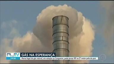 Norte Fluminense pode se tornar segundo maior polo de gás natural do Brasil - O projeto de lei do novo marco regulatório do setor está sendo discutido nesta terça (1º) no plenário da Câmara dos Deputados.