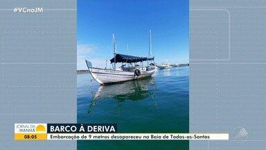 Barco avaliado em R$ 20 mil desaparece na Baía de Todos os Santos - O marinheiro diz que a embarcação estava ancorada na terça-feira (1), quando foi vista pela última vez.