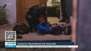 Morador foi mantido refém por grupo armado na própria casa durante quase 3 horas - Morador foi mantido refém por grupo armado na própria casa durante quase 3 horas