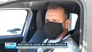 Motorista de aplicativo encontra quase 2 mil reais e devolve a passageira - Saiba mais no g1.com.br/ce