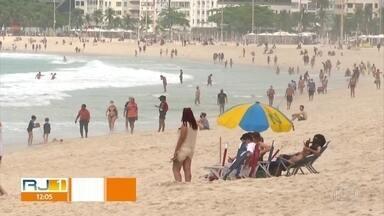 Flexibilização atrai turistas para o Rio - Nem todos respeitaram as regras da Prefeitura.