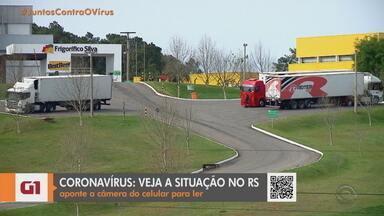Frigorífico de Santa Maria tem 167 funcionários com coronavírus - Maior parte dos contaminados está com sintomas leves.