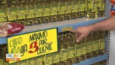 Preços de produtos da cesta básica sofrem reajuste - Consumidor está buscando alternativas para alguns itens.