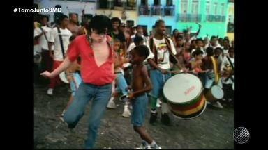 Baianos que participaram de clipe com Michael Jackson no Pelourinho relembram a gravação - Uma nova versão do videoclipe de 'They Don't Care About Us' foi apresentada para todo o mundo esta semana.