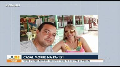 Cabo da PM e esposa morrem em acidente de trânsito na PA-151 - Acidente aconteceu na manhã deste sábado (5), próximo a Abaetetuba, nordeste do Pará.