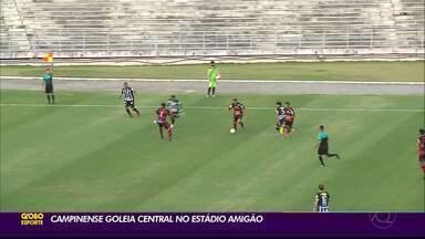 Campinense goleia o Central por 6 a 3, no Amigão - Raposa não tomou conhecimento da Patativa e goleou a equipe pernambucana