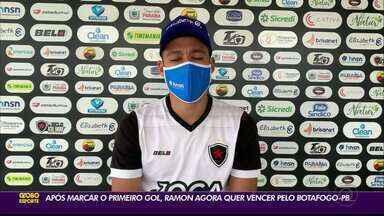 Ramon quer buscar a sua primeira vitória no Botafogo-PB - Atacante tem duelo, junto à equipe alvinegra, contra o Imperatriz, na tarde deste sábado