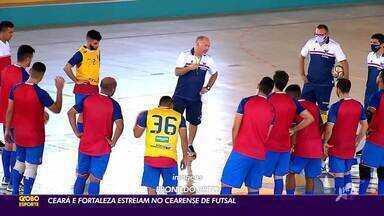 Com Ceará e Fortaleza, Campeonato Cearense de Futsal começa neste sábado (5) - Saiba mais em ge.globo/ce