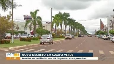 Prefeitura de Campo Verde autoriza reuniões em residências, com limite de pessoas - Prefeitura de Campo Verde autoriza reuniões em residências, com limite de pessoas.