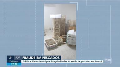 Polícia Civil e Cidasc interditam empresa de pescados em Imaruí - Polícia Civil e Cidasc interditam empresa de pescados em Imaruí