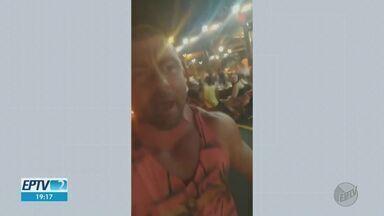 Clientes que ofenderam fiscais em bar vão responder por desacato à autoridade em SP - Caso aconteceu na noite de sexta-feira (4) em Ribeirão Preto (SP). Promotor afirma que estabelecimento pode ser interditado.