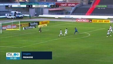 CSA e Confiança de Sergipe empatam pela Série B - Confira os gols.
